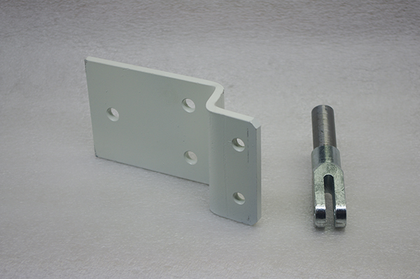 CR 24B Door Bracket and CR Misc. Fork Attachment Side Mount Vertical Lift Image