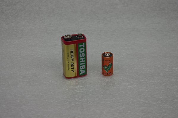 GD 43A Battery 9V & 6V Image