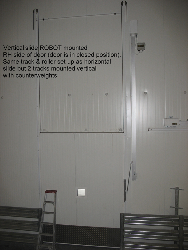 Installation Of Side Mount Vertical Lift Coolroom And