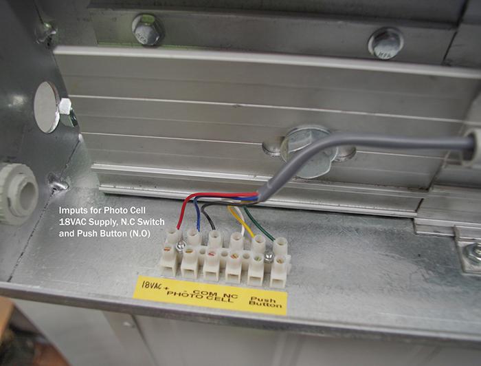 Personnel Door Opener Model Pd 12 Belt Driven Electronic