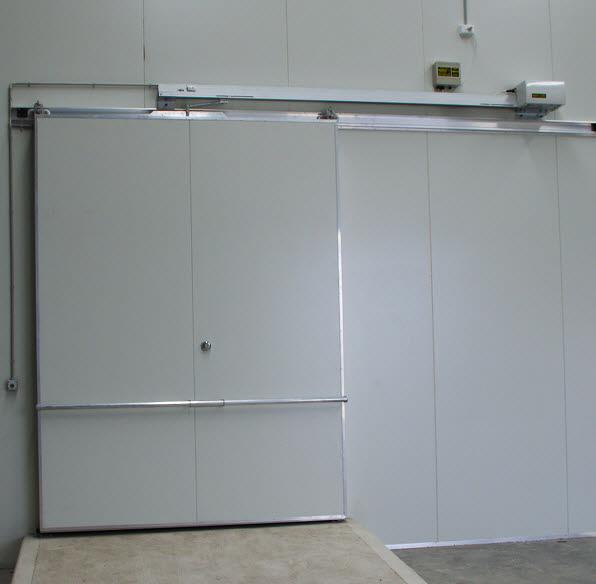 Horizontal Slide Coolroom And Freezer Door Opener Model
